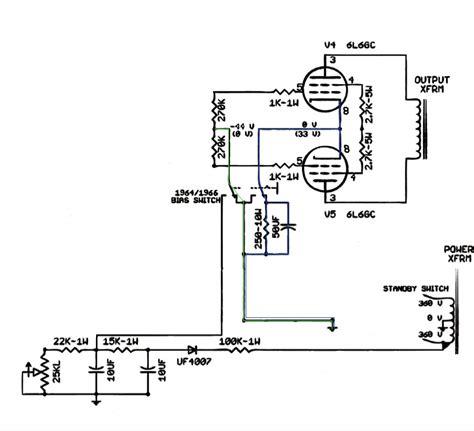 fixed bias resistor technical lifier talkbass