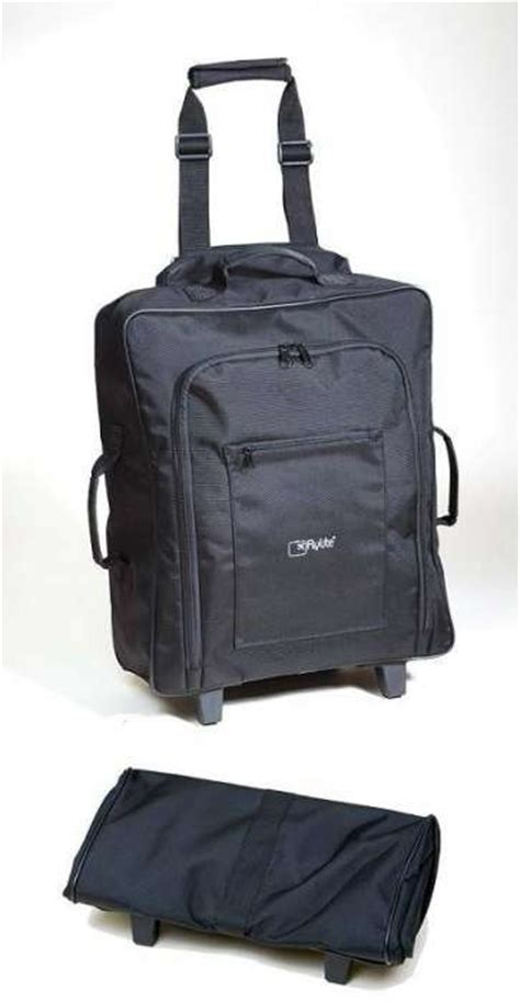 cabin bag with wheels flylite foldaway cabin bag