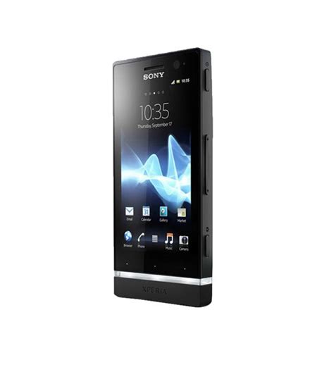 snapdeal sony mobaile sony xperia u black white mobile phones online at low