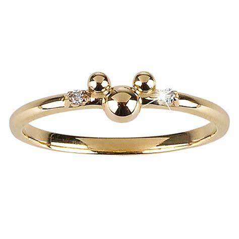 your wdw store disney ring 14 kt gold and