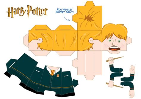 Harry Potter Papercraft Templates - 16 best photos of harry potter papercraft templates
