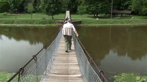 swinging bridge croswell mi quot swinging bridge quot of croswell michigan youtube