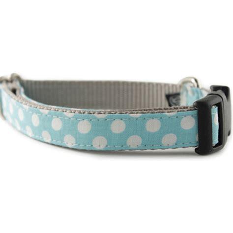 light blue dog collar buy light blue white polka dot dog collar ice blue dot