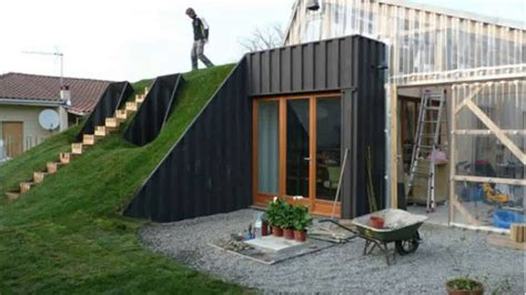 shipping container homes underground shipping container