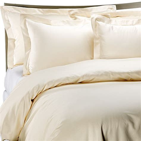 royal hotel bedding palais royale hotel collection duvet cover in ivory bed