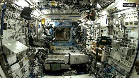 International Space Station Interior by Inside Space Station Sound Relaxing White Noise Hd