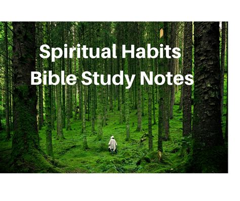 What Do You Need To Get A Background Check Spiritual Habits Bible Study What Are Spiritual Disciplines