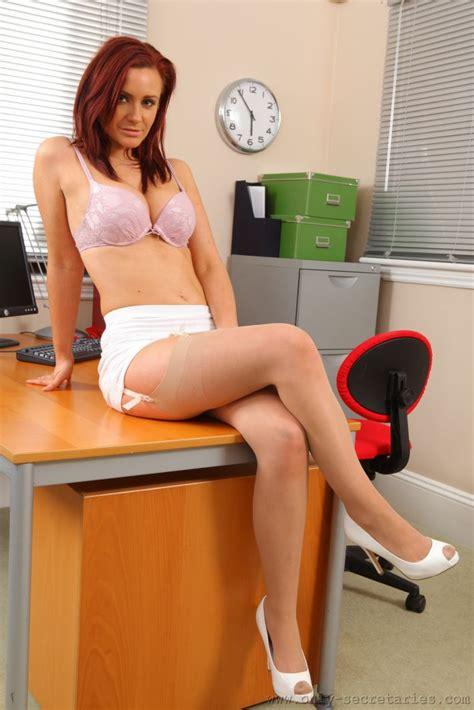 secretary bent over her desk secretary only tease nude sex porn images