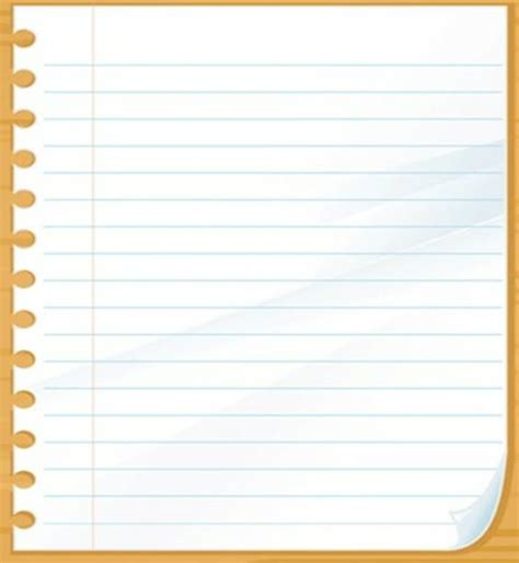 How To Make Notebook Paper - notebook photohome bloguez