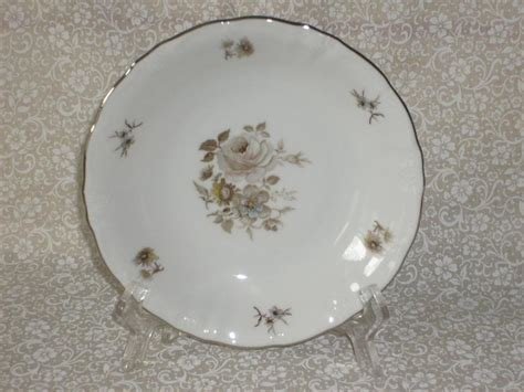 fine china patterns winterling fine china empress pattern 2 coupe soup bowls