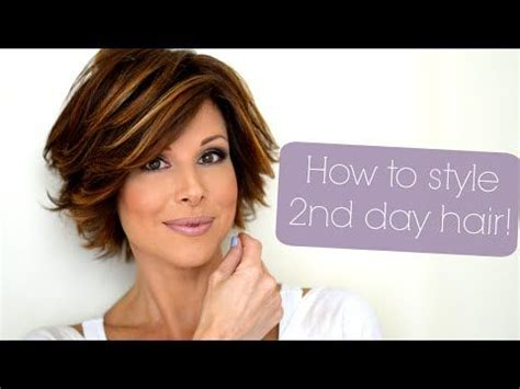 how to pull my hair back like yoland foster step by step 4 easy short hairstyles that will make you want a bob