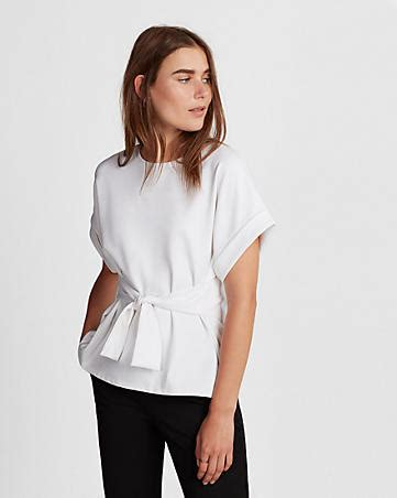 Tie Back Frilled Tank Top White S stylish the shoulder cut out blouse for white shirt