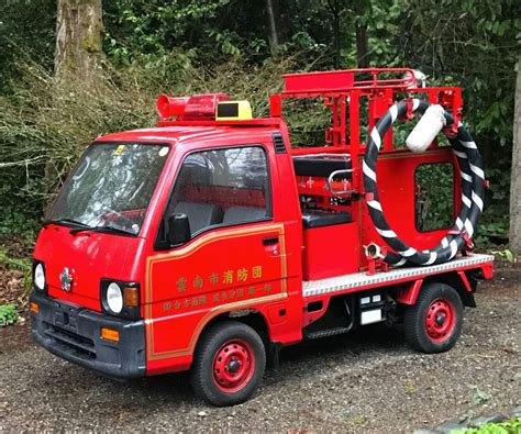 subaru sambar truck engine subaru sambar 4 x 4 fire truck guys like us