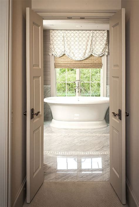 window dressing for bathroom window treatments bathrooms pinterest