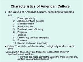 What Qualities Make An American Culture