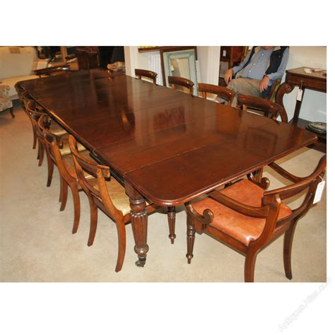 14 Dining Table Large Extending Dining Table 14 Seater 13 6 Antiques Atlas