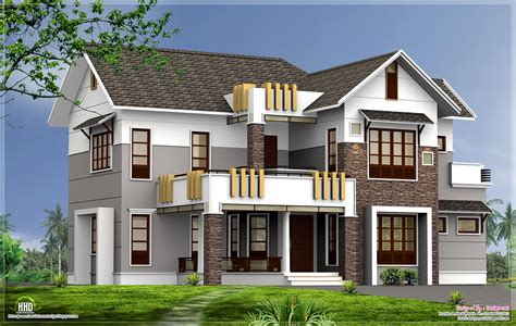 2400 sq contemporary home elevation home kerala plans