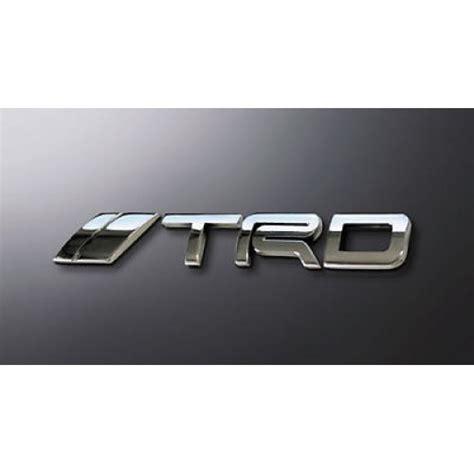 Emblem Trd Chrome Berkualitas trd japan emblem logo type jdm toyota scion genuine jp toyota racing gazoo