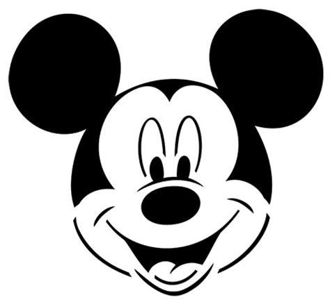 la cara de mickey mouse para colorear imagui