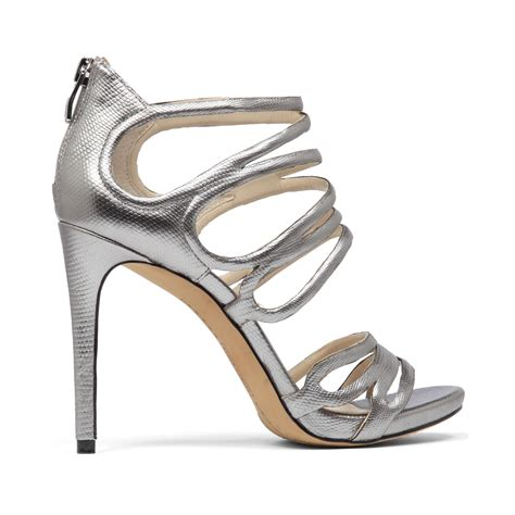 vince camuto silver sandals vince camuto fortuner evening sandals in silver silver