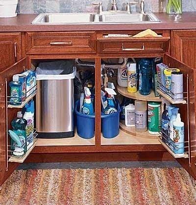 under kitchen sink storage ideas under sink storage idea kitchen remodel pinterest