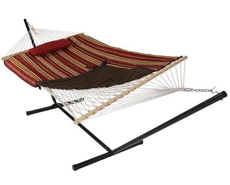 backyard gear sunnydaze free standing hammock best backyard gear