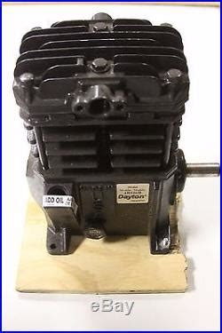 dayton bb twin cylinder air compressor pump