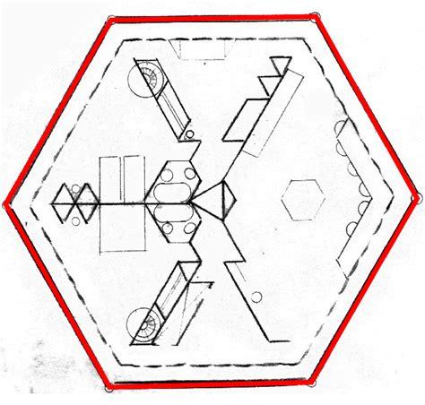 Hexagon Building Plans by Hexagon House Design Plans House Design Plans
