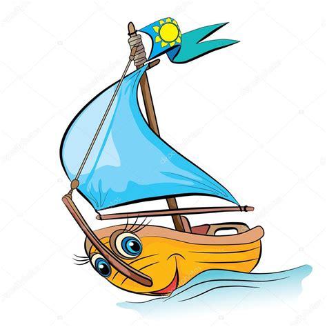yacht clipart cartoon sailing yacht stock vector 169 vitasunny 64862579