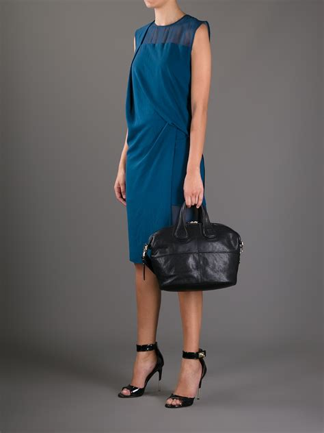 New Of Givenchy Nightangle Smalll givenchy small nightingale tote in black lyst