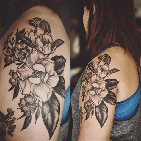 dogwood tree tattoo magnolia flower ideas best tattoos for 2018 ideas