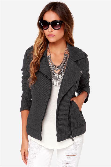 Jaket Vans Bb Blackgrey bb dakota allesa grey sweater jacket moto jacket 91 00