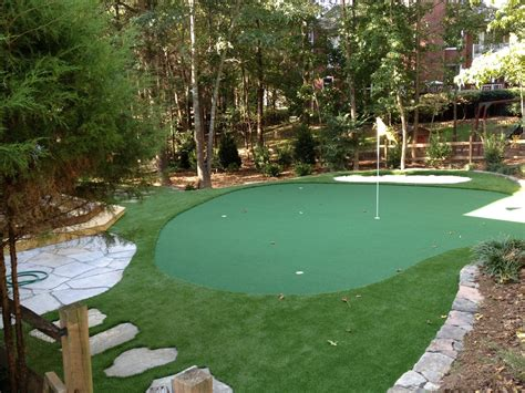golf green backyard backyard putting greens north carolina carolina outdoor
