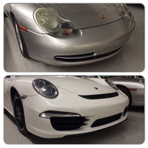 Porsche 996 Facelift Conversion by Porsche 996 To New 2014 Porsche 991 Lift Front