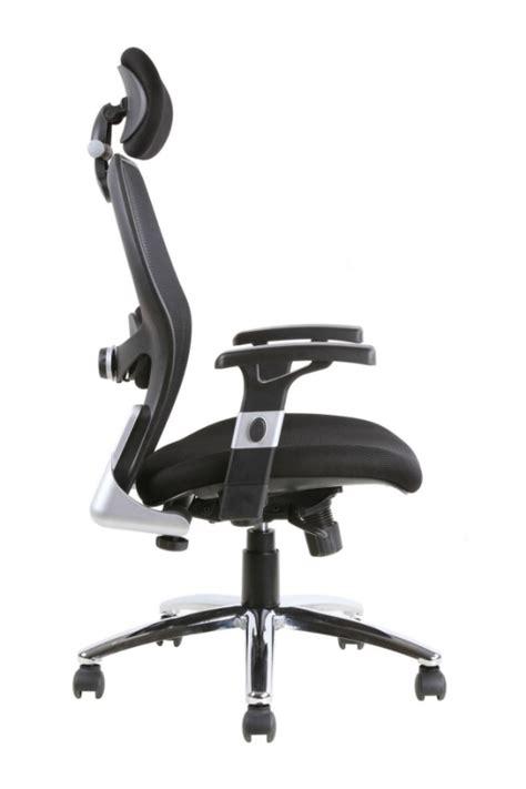 sanderson luxury mesh  office chair  lumbar support