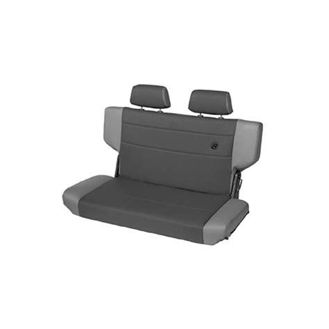 fabric bench seat trailmax ii fold and tumble rear bench seat fabric