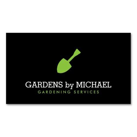 Gardening Services Business Cards Templates by 19 Best Business Cards For Landscaping Lawn Care