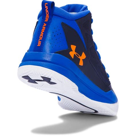 boys basketball shoe armour boys grade school jet mid basketball shoes