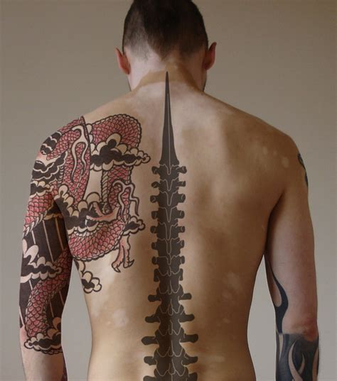 tattoos for men on back