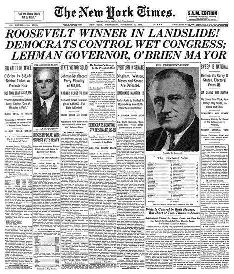 franklin d roosevelt a political thorndike press large print biographies and memoirs books new york times election front pages the new york times
