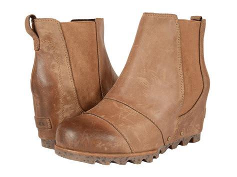 sorel lea wedge womens waterproof boots