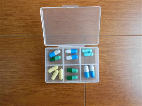 Plastic Medicine Box 4 compartsment pill box plastic medicine buy pill