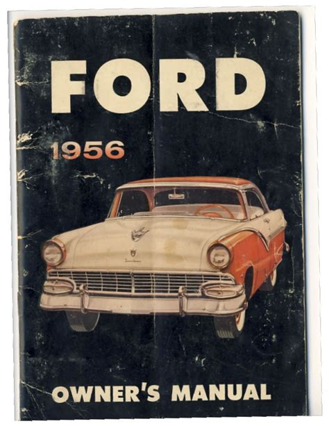 old cars and repair manuals free 2009 ford flex windshield wipe control directory index ford 1956 ford 1956 ford owners manual