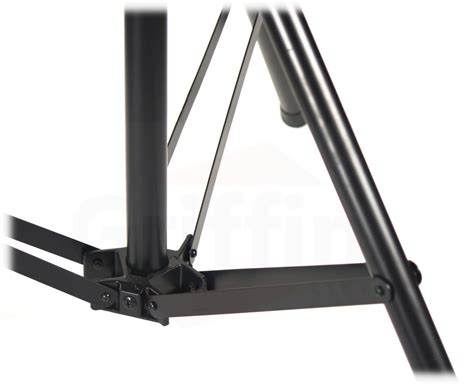 dj light stand accessories crank up triangle light truss system by griffin dj