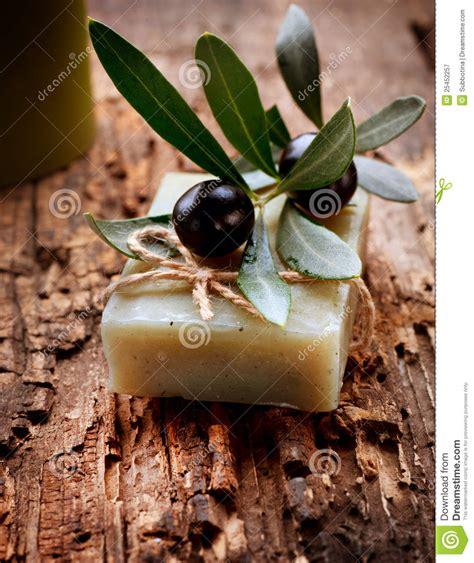 Handmade Olive Soap - handmade olive soap royalty free stock photography image