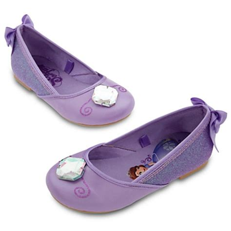 Flatshoes Shofia disney store princess sofia the shoes junior flat ballet costume ebay