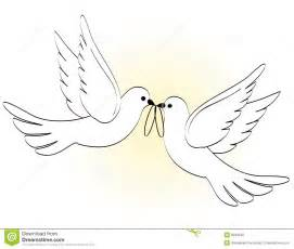 Doves and two wedding rings great for wedding invitations websites