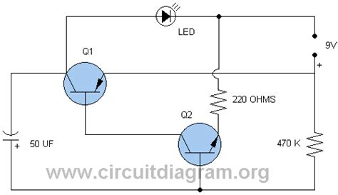 led blinker circuit diagram led blinker circuitdiagram org