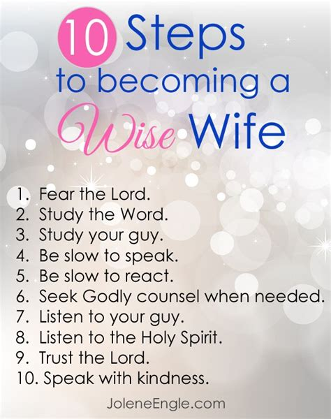 10 Tips On Being A Better Spouse by The Wise By Jolene Engle