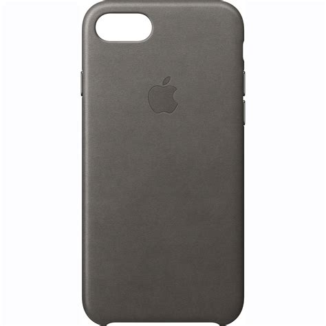iphone b h apple iphone 7 leather gray mmy12zm a b h photo